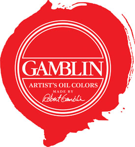 Gamblin Splotch Logo